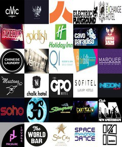 DJ clubs, bars and hotels in Sydney