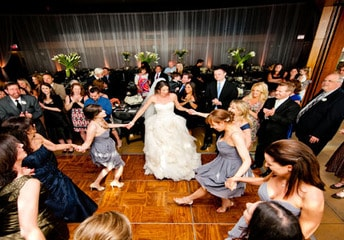 Professional DJ hire for wedding